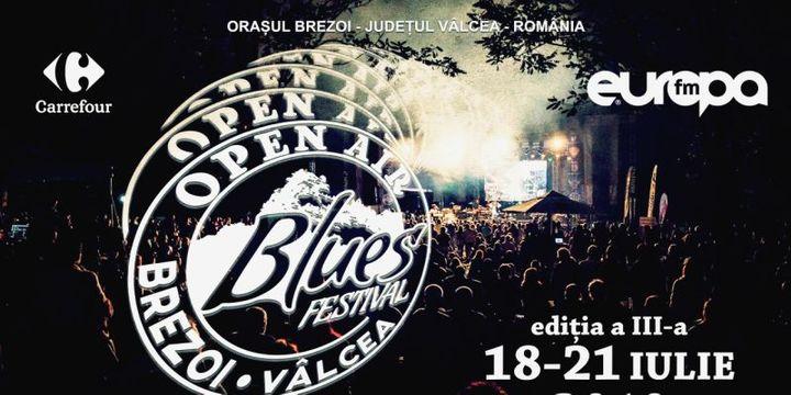 Open Air Blues Festival Brezoi - Vâlcea 2019