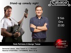 Stand-up comedy & parodii muzicale cu George Tanase & Radu Pietreanu