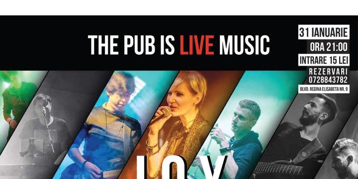 JOY live la The PUB