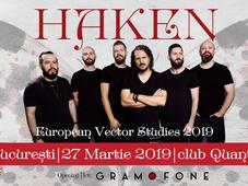 Concert Haken - European Vector Studies 2019