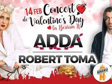 ADDA // Robert Toma // Concert de Valentine's Day @ Berăria H