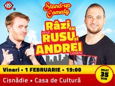 Cisnădie: Stand-up Comedy - Râzi cu Rusu și Andrei
