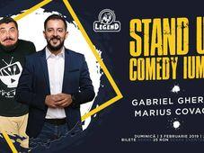 Stand Up Comedy - IUmor cu Gabriel Gherghe si Marius Covache