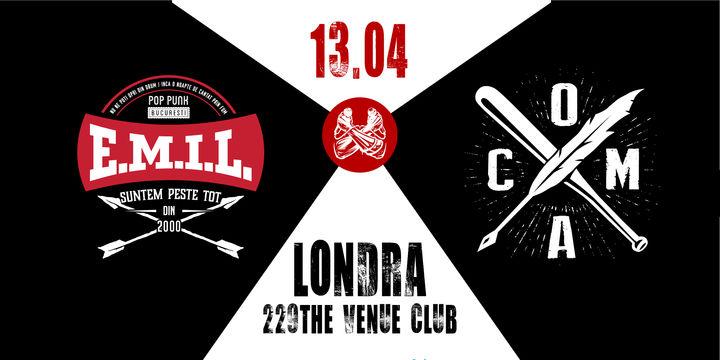 Londra: Concert Coma & E.M.I.L.