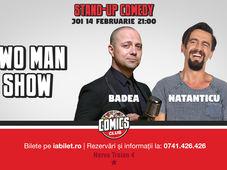 Two Man Show cu Badea și Natanticu la Comics Club