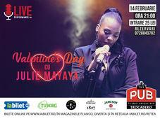 Julie Mayaya – Concert de Valentine's Day la The PUB