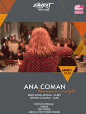 Ana Coman - lansare single / Expirat / 19.02