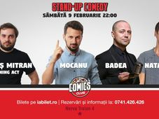 Stand Up Comedy cu Badea, Mocanu & Natanticu la Comics Club