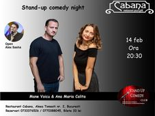 Stand Up Comedy cu Mane Voicu & Ana Maria Calita