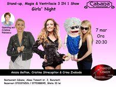 Stand-up, Magie & Ventrilocie - Girls' Night cu Anisia, Cristina & Crina