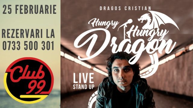 Live English Stand up cu Dragos Cristian