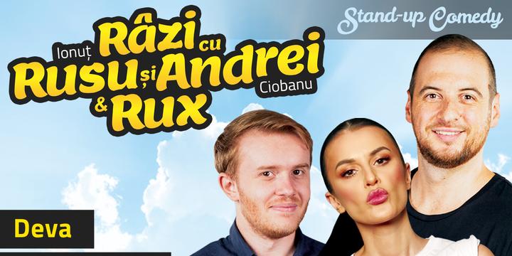 Deva: Stand-up Comedy Razi cu Rusu si Andrei & Rux
