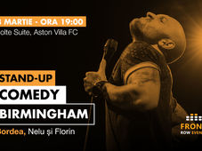 Birmingham: Stand-up comedy cu Bordea, Nelu și Florin