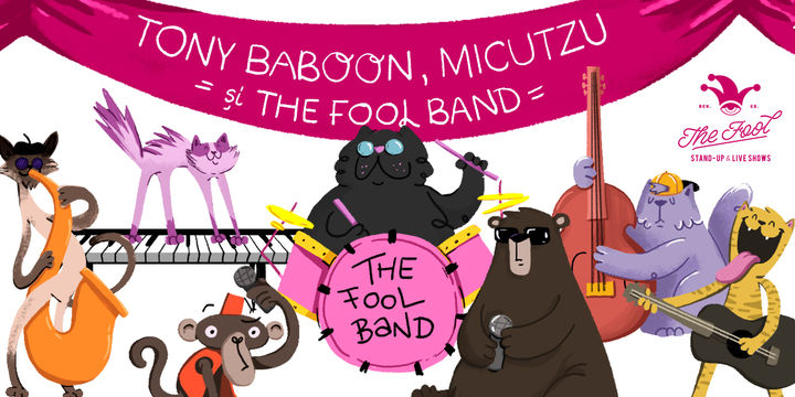 Impro Music Session - Tony Baboon, Micutzu şi The Fool Band