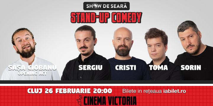 Stand Up Comedy cu Sorin, Sergiu, Toma și Cristi Popesco in Cluj