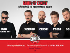 Show #2 - Stand Up Comedy cu Sorin, Sergiu, Toma & Cristi Popesco la Comics Club