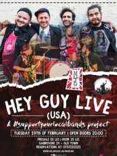 Hey Guy w/ Boris Pelekh (Gogol Bordello) [USA] | #SYLB