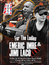 Emeric Imre & Jimi Laco live for the ladies @Mojo
