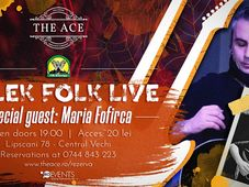 Bolek Folk w/ Maria Fofirca live @The Ace