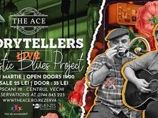 Storytellers(Marcian & Mihai) Acoustic Blues - Live @The Ace