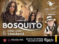 The Fool: Concert Bosquito & Ovidiu Lipan Țăndărică
