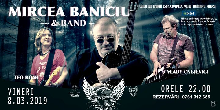"Mircea Baniciu & Band | ""Esarfa in dar"" | Aby Stage"