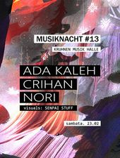 Musiknacht #13: Ada Kaleh, Crihan, Nori