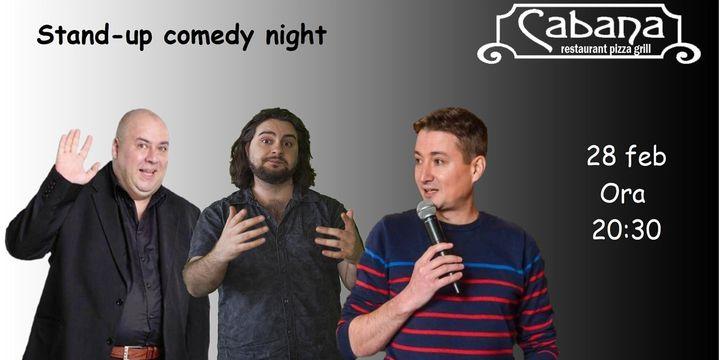 Stand-up comedy cu Toni Ionescu AKA Marlanu, Tiberiu Popovici & Cristian Manolescu