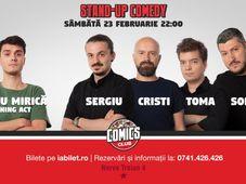 Show # 2 Stand Up Comedy cu Sorin, Sergiu, Toma & Cristi Popesco la Comics Club