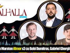 Stand Up Maraton iUmor x3 cu Bobi Dumitras, Gabriel Gherghe si Petrica Istoc