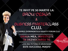Cluj: ''Brow Design & Business Masterclass ''