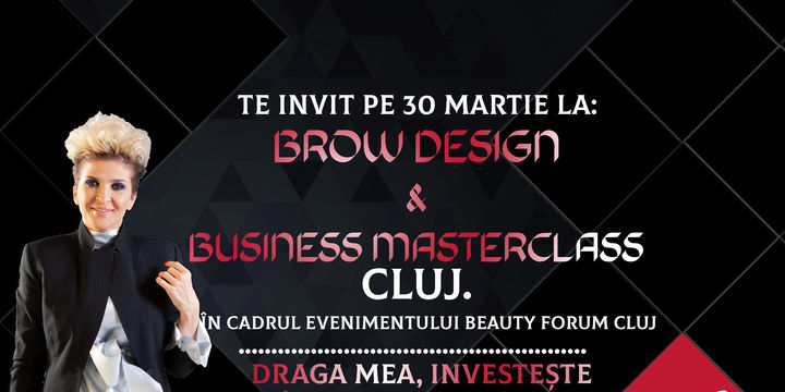 Cluj: ''Brow Design & Business Masterclass ''