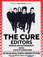 Concert THE CURE, Editors & God is An Astronaut