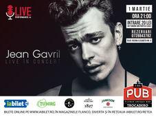 Jean Gavril Live la The PUB