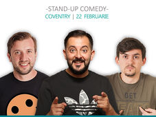 Coventry: Stand Up Comedy iUmor cu Dumitras, Gherghe si Istoc