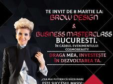 Bucuresti: ''Brow Design & Business Masterclass ''