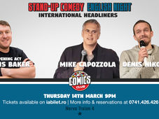 English Night - Stand-up comedy show with Mike & Denis!
