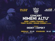 Concert Nimeni Altu'