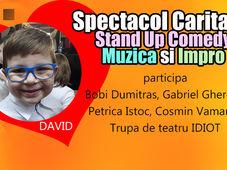 Iasi: Stand-Up, Muzica si Impro - Spectacol Caritabil