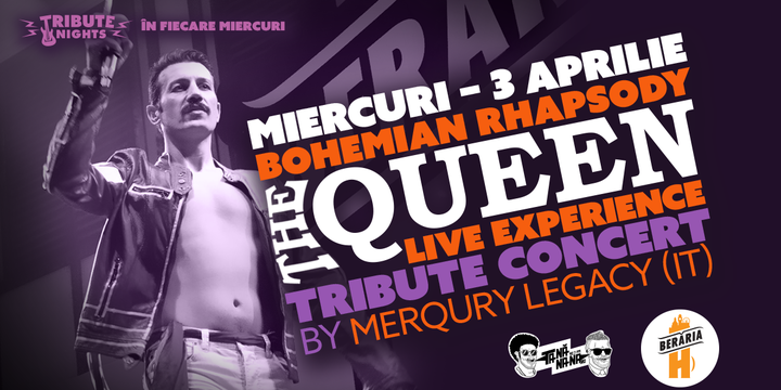 Bohemian Rhapsody > Queen Tribute Show by Merqury Legacy[Italy]