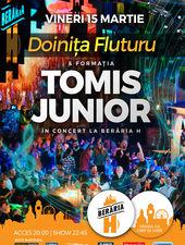 Formația Tomis Junior și Doinița Fluturu în concert la Berăria H
