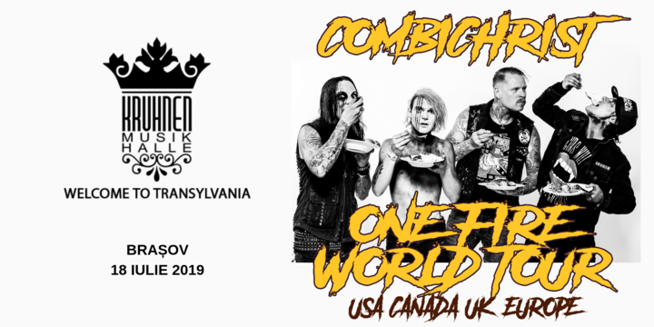 Combichrist [USA] -One Fire World Tour 2019