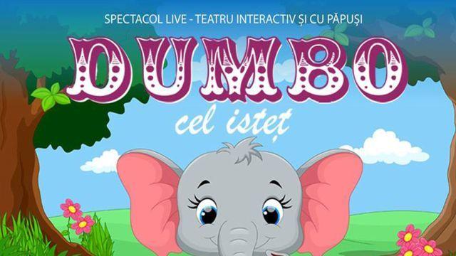 Dumbo cel istet la Restaurant Cabana