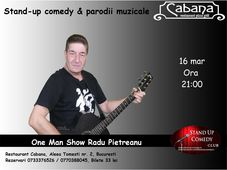 Stand-up comedy & parodii muzicale cu Radu Pietreanu