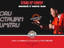 Spectacol de comedie cu Doru Octavian Dumitru la Comics Club