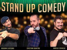 Stand-Up Comedy cu Bogdan Zloteanu, Cristian Dumitru si Marius Covache