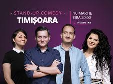 Timișoara: Stand-up comedy cu Tănase, Mane, Ioana și Luiza