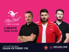 The Fool: Stand-up comedy cu Micutzu, Sergiu și Claudiu
