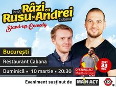 Stand-up comedy cu Ionut Rusu & Andrei Ciobanu