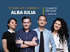 Alba Iulia: Stand-up comedy cu Tănase, Mane, Ioana și Luiza